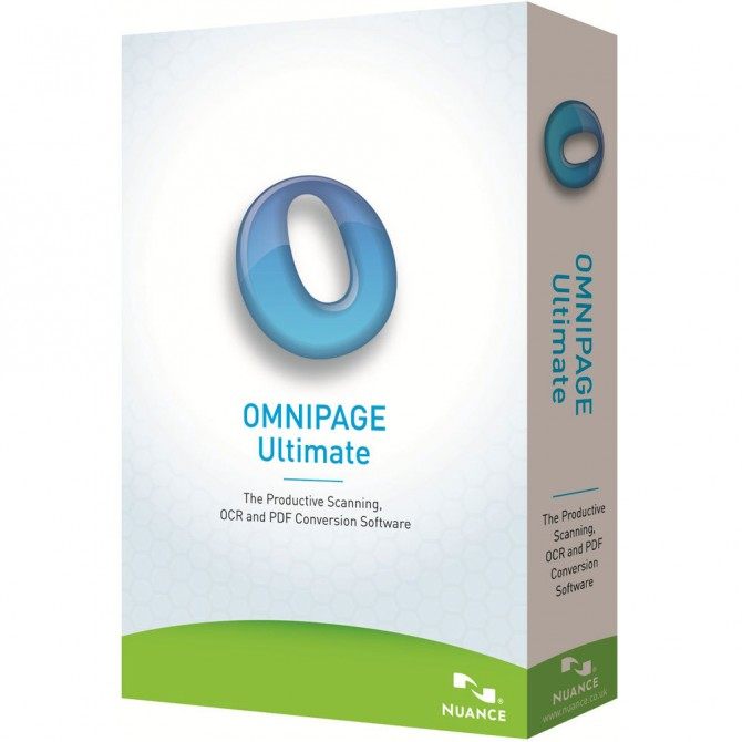 Logiciels adaptés - Omnipage Ultimate